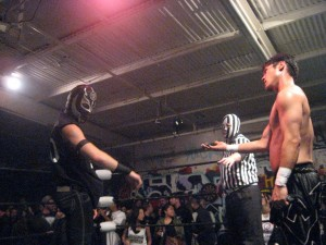 The memorial armband was more important to Lucha than the handshake